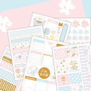 Grand Plans Planner Stickers