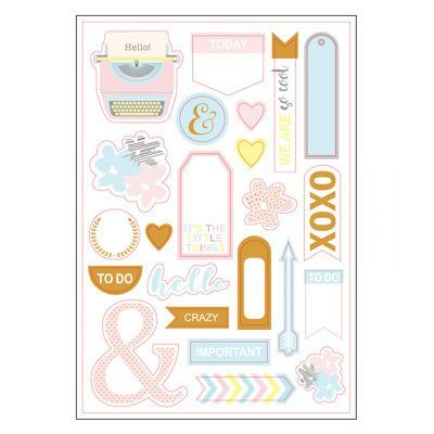 Grand Plans Planner Stickers Sheet 3