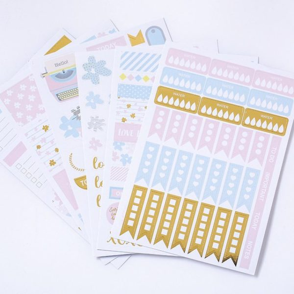 Grand Plans Planner Stickers 3 sheets