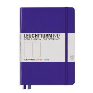 Leuchtturm 1917 A5 Dotted Notebook Purple NZ