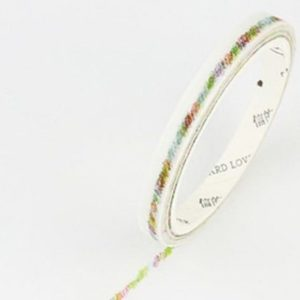 Coloured Scribble Thin Washi Tape NZ