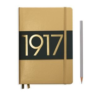 Leuchtturm1917 Bullet Journal Medium Dotted Notebook Special Edition Gold