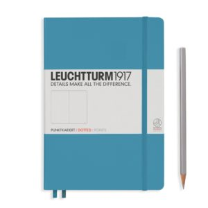 Leuchtturm1917 Medium Dotted Notebook Nordic Blue NZ