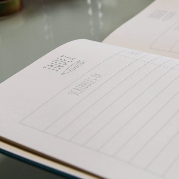 Scribbles That Matter Dotted Notebook Index