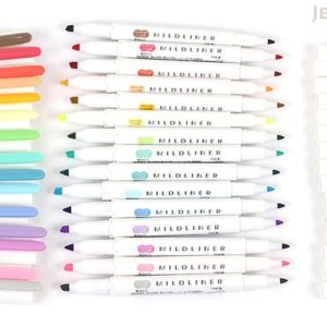 zebra mildliners nz total colour chart