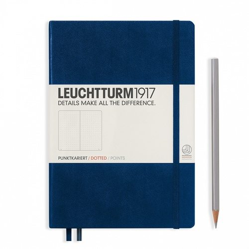 Leuchtturm1917 A5 Dotted Notebook NZ Navy bullet journal nz