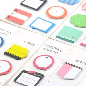 Schedule Marker Planner Stickers 2