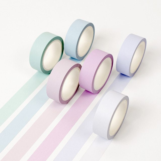 pastel medium washi tape NZ