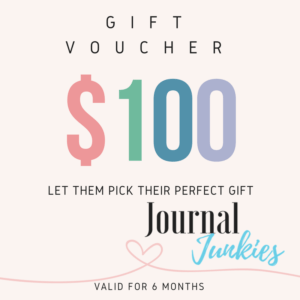 Journal Junkies Gift Voucher 100