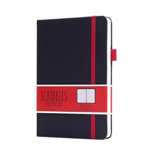 Scribbles That Matter Dotted Notebook Pro Version Black