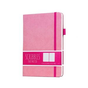 Scribbles That Matter Dotted Notebook Pro Version Pastel Pink