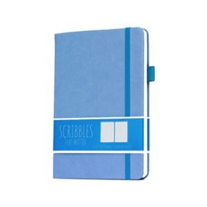 Scribbles That Matter Dotted Notebook Pro Version Periwinkle Blue