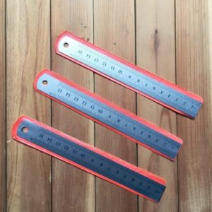 15cm 6inch metal mini ruler nz