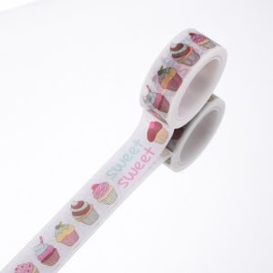 Sweet As Cupcake Medium Washi Tape NZ