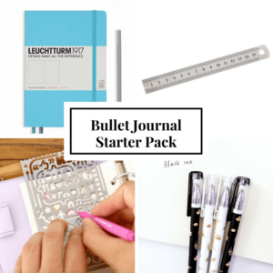 Bullet Journal NZ Starter Pack
