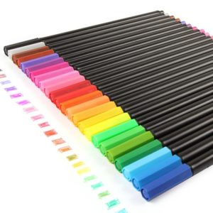 Coloured Fineliners NZ 24 Pack 1