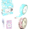 Floral Blossom Medium Washi Tape NZ Pack
