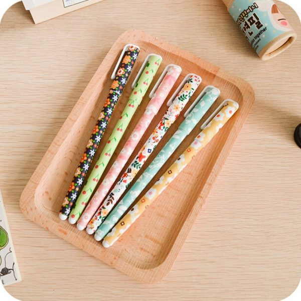 thin gel writing pens nz floral