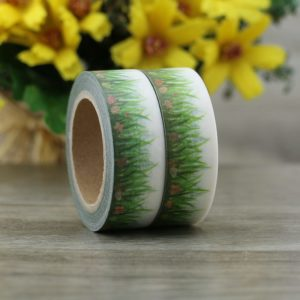 Medium Washi tape NZ Spring Grass 2