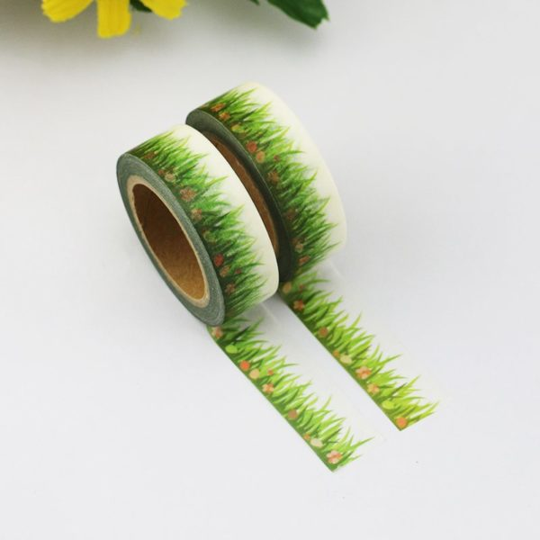 Medium Washi tape NZ Spring Grass 3