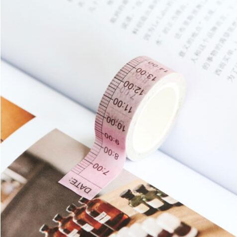 Medium Washi Tape NZ time tracker Time Stamp Time Ladder