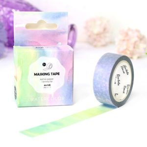 Medium washi Tape NZ Watercolour Gradient