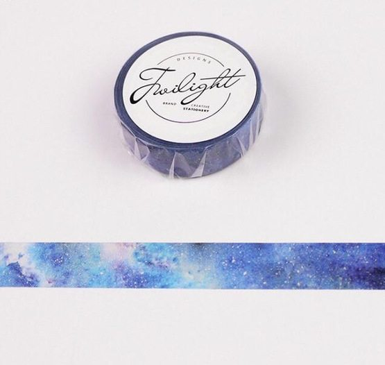 Medium Washi tape NZ Blue Galaxy