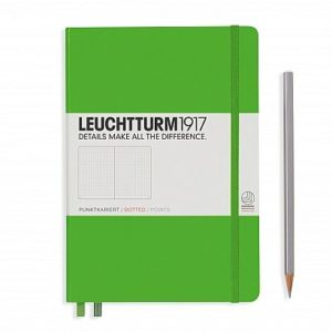 NEW Leuchtturm1917 Dotted Medium Notebook NZ Fresh Green NEw