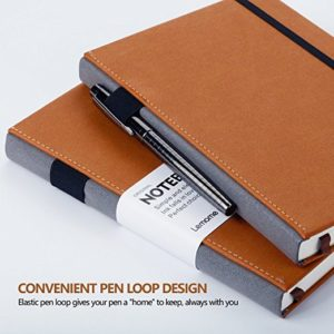 Classic Lemome Dotted Notebook Bullet Journal NZ Pen loop