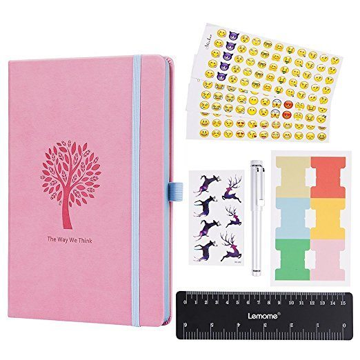 Lemome Bullet Journal Dotted Notebook NZ Pink Product