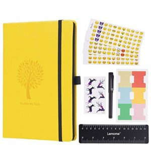 Lemome Bullet Journal Dotted Notebook NZ Yellow Product