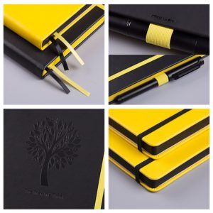 Lemome Bullet Journal Dotted Notebook NZ Yellow Product specs