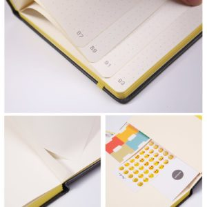 Lemome Bullet Journal Dotted Notebook NZ Yellow insideLemome Bullet Journal Dotted Notebook NZ Yellow inside