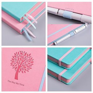 Lemome Bullet Journal Dotted Notebook NZ mint pink specs
