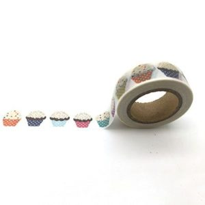 Medium Washi Tape NZ Baking Cupcakes