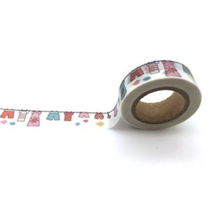 Medium Washi Tape NZ Clothes On The Line