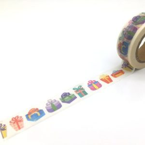Medium Washi Tape NZ Presents row gifts