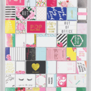Bright and Bold Journal Cards Bullet Journalling NZ Scrapbooking supplies total