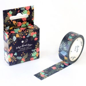 Secret Garden Medium Washi Tape NZ Flowers Bullet Journal