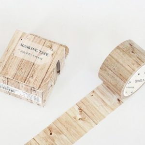 Wide Washi Tape NZ Pine Wood JJ-W-158