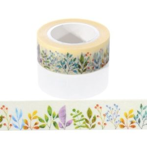 MEdium Washi Tape NZ Love Gardening Plants JJ-W-177