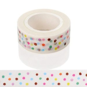 Medium Washi Tape NZ Candy Dots JJ-W-178