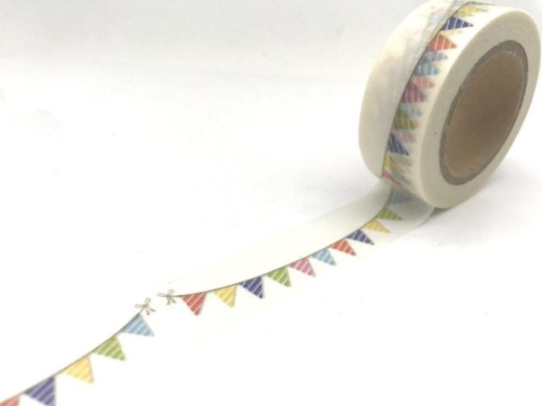 Medium Washi Tape Nz Bullet Journal Bright Bunting