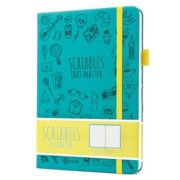 Scribbles That Matter Dotted Notebook Bullet Journal NZ Teal Iconic