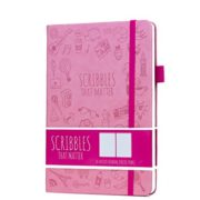 Scribbles That Matter Dotted Notebook NZ Bullet Journal Iconic Pastel Pink