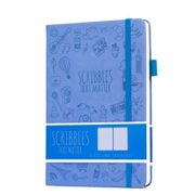 Scribbles That Matter Dotted Notebook NZ Bullet Journal Iconic Periwinkle Blue
