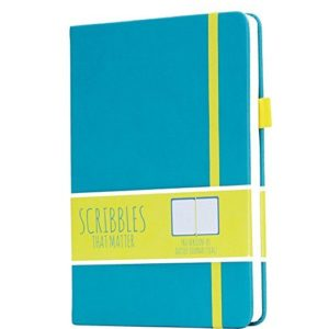 Scribbles That Matter Dotted Notebook NZ Pro Teal