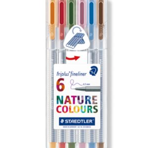 Steadtler Staedler steadler steatler staetler Steatdler Triplus® Fineliner 334 New Zealand Official Nature Pack