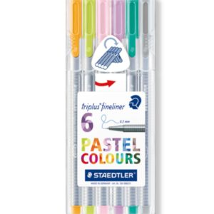 Steadtler Staedler steadler steatler staetler Steatdler Triplus® Fineliner 334 New Zealand Official Pastel Set