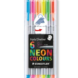 Steadtler Staedler steadler steatler staetler Steatdler Triplus® Fineliner 334 New Zealand Official Neon Pack